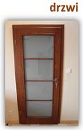 Wykonujemy drzwi drewniane na indywidualne zamówienie klienta.